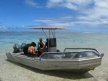 Dive Boat Rarotonga