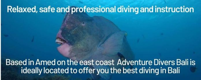 Bali Indonesia Amed Diving