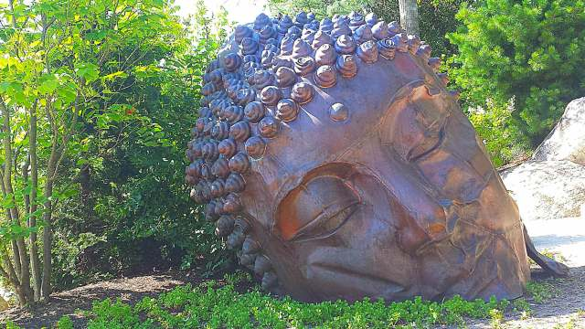 Japanese Gardens Long Island Buddha Sculpture Meijer Gardens Adventure Dragon