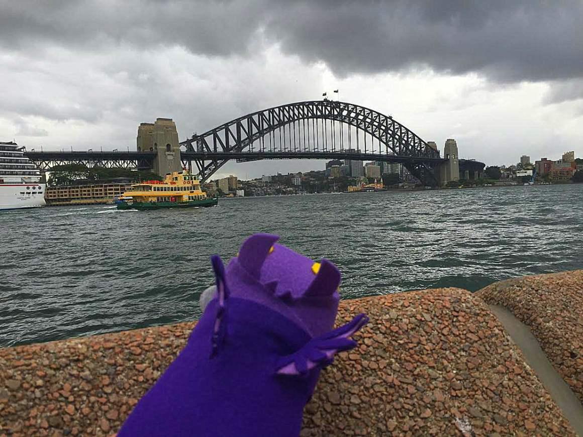 Sydney Harbour Bridge -- Sydney Secrets - The Sydney Opera House is not White