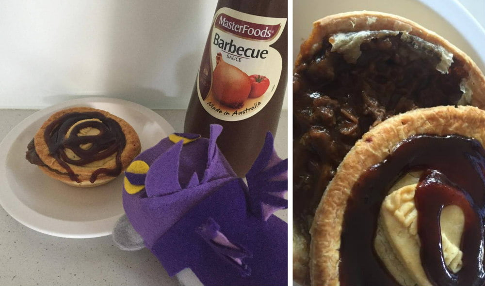 Sydney Meat Pie -- Sydney Secrets - The Sydney Opera House is not White