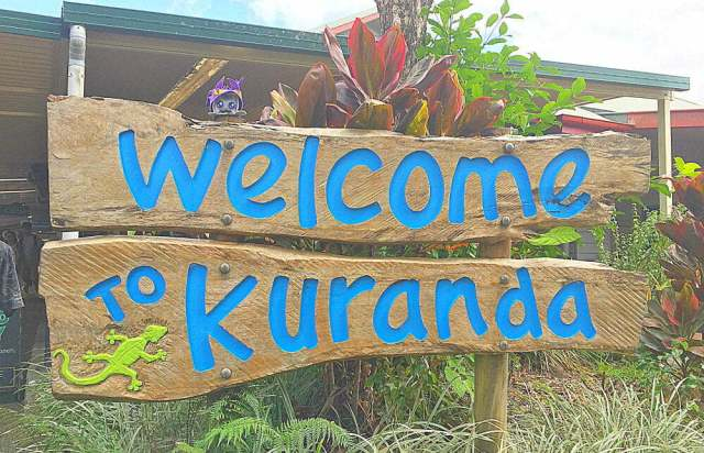 Kuranda Station Cairns Skyway Rainforest Cableway Australia