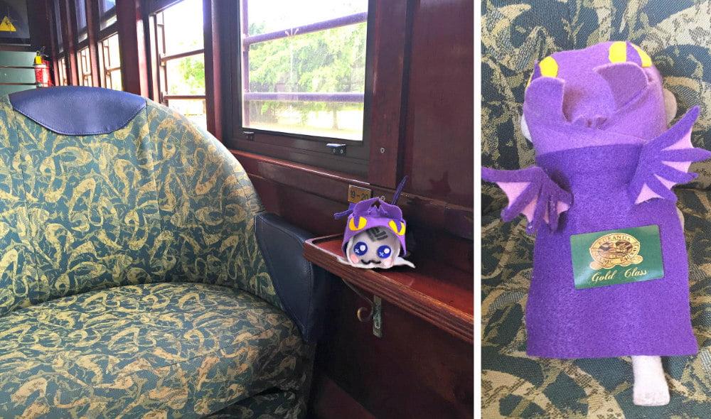 Kuranda Scenic Railway Gold Class Carriage ticket options