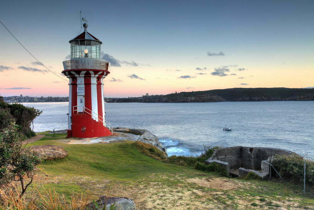 Hornby Lighthouse Australia-самые красивые места в Австралии фотографии