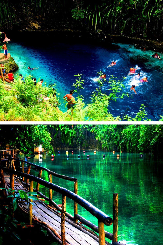 Hinatuan Enchanted River on Mindanao Island-самые красивые места на Филиппинах фотографии