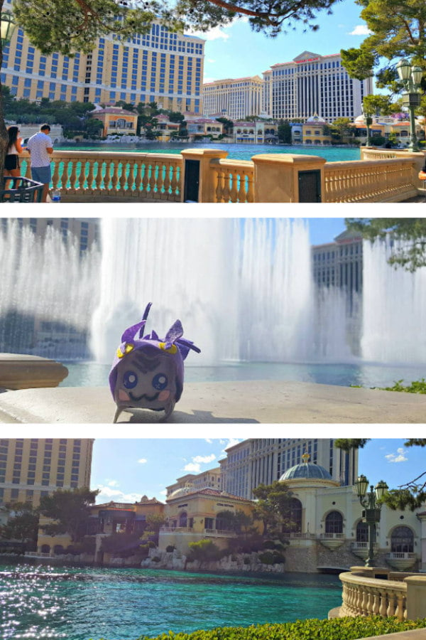 Fountains of Bellagio Show - Free Fountain Show in Las Vegas at the Bellagio Hotel