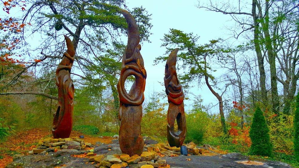Elder Flame Art Sculpture Rock City Gardens
