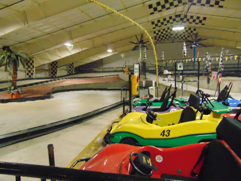 Lake George Indoor Go Carts