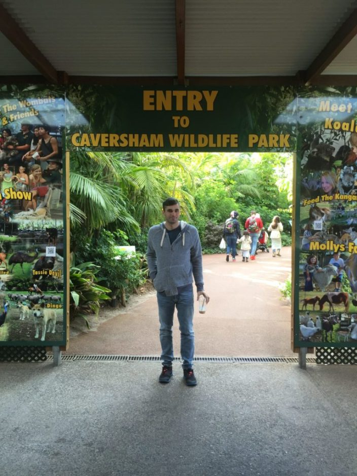 visiting Caversham wildlife park