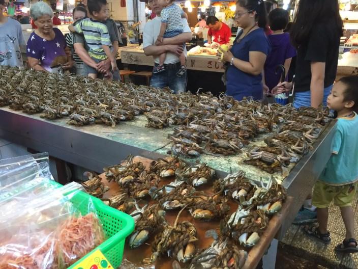 Tungkang fish market in Taiwan