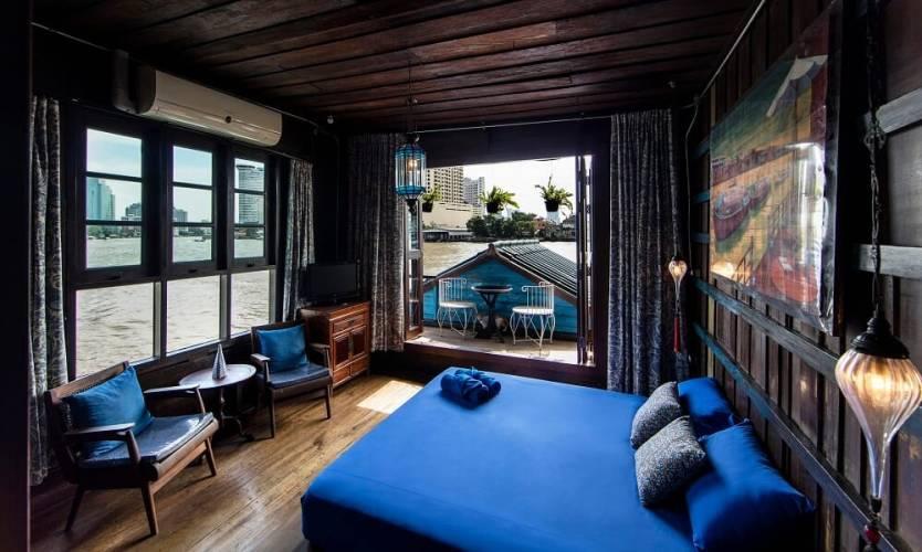 Loy La Long Hotel Blue Room views