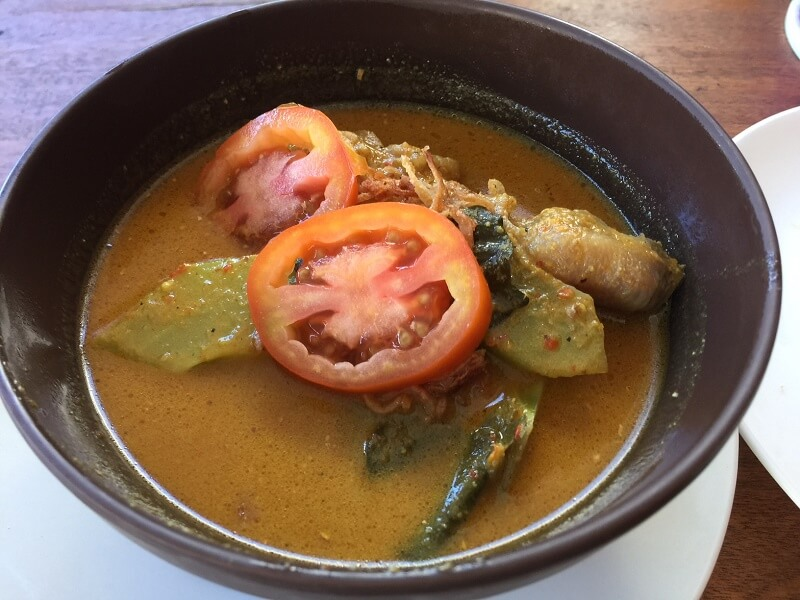 chicken curry bowl bali indonesia