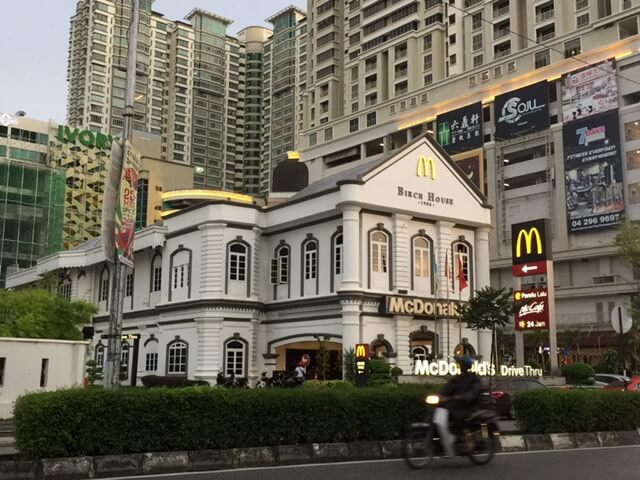 Cool McDonalds in Penang Malaysia