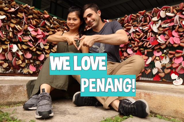Love Lock Bridge Penang