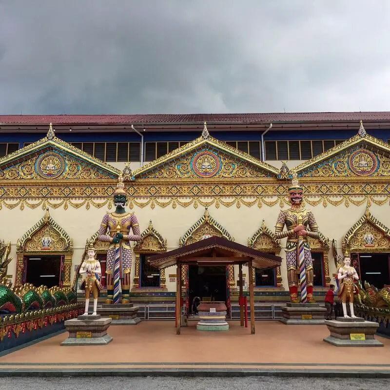 Thai Buddhist temple, Penang Malaysia