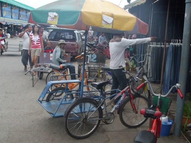 Rong Kluea the Cambodian border market in Aranyaprathet, Sa Kaeo
