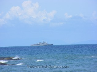 Koh-Samet-Island-Royal-Thai-Navy-Ship