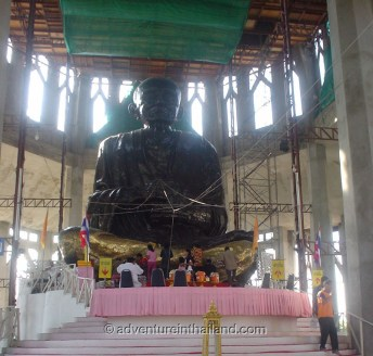 Wat Luang Phor Toh in a early phase of construction