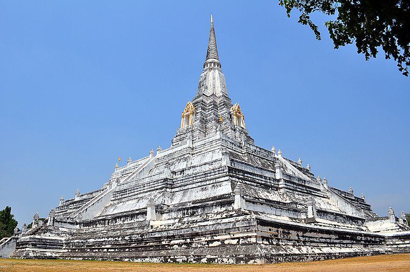 Wat Phu Khao Thong The Golden Mountain Ayutthaya