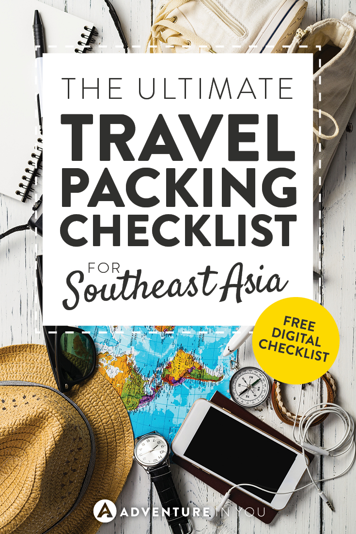 Packing List | Looking For A Packing List For Traveling Southeast Asia?  Check Out Our