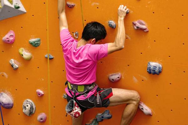 Indoor Rock Climbing Guide Started