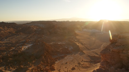 Sunset over the Valley of the Moon