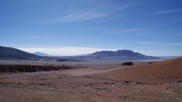 Northern Chile, near the Argentinian boarder.
