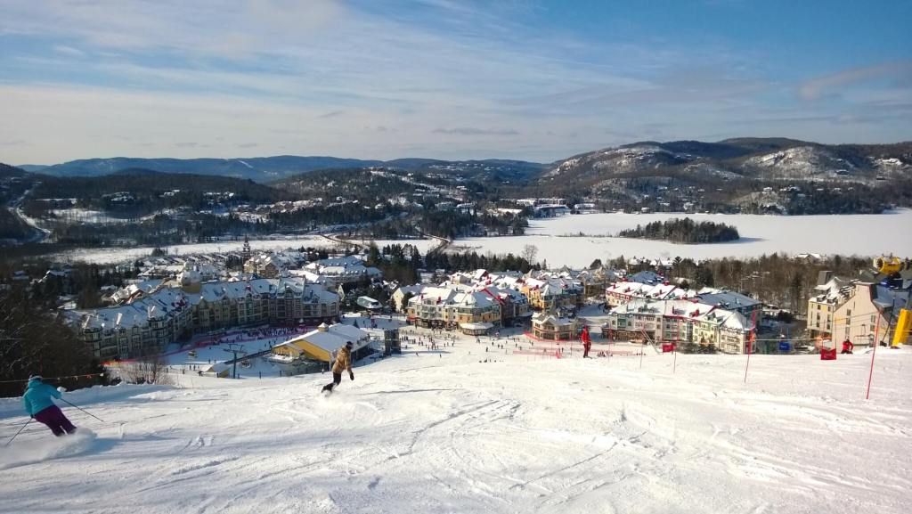 Mont Tremblant village.