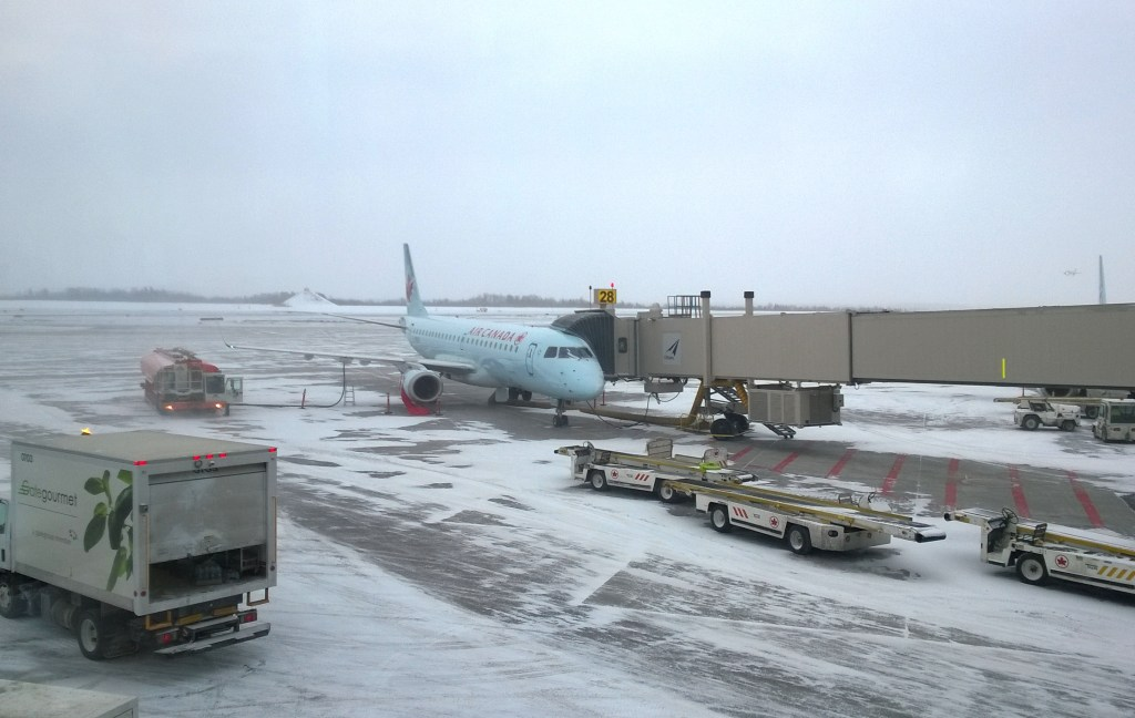 Weather is one of the most common causes of flight delays.