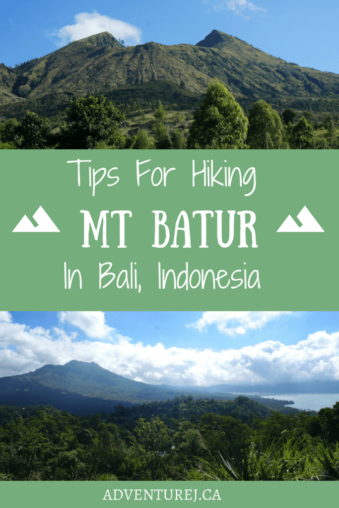 Tips and things to know before hiking Mt Batur in Bali. This hike promises amazing views but there were a few thing I wish I'd known before hand.