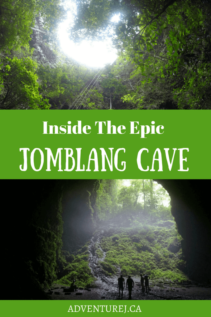 Exploring the epic Jomblang Cave, located just outside Yogyakarta, Indonesia, is nothing short of spectacular! Here's a quick guide on what to expect when you visit.  #travel #traveltips #Indonesia #Yogyakarta #JomblangCave #cave #explore #adventure #adventuretravel #southeastasia