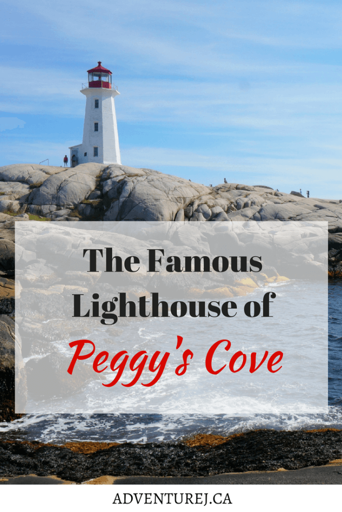 Peggy's Cove Lighthouse has been given the title of most photographed lighthouse in Canada and one is one of the most recognized the world over. Here is some quick info all about Peggy's Cove! #Canada #roadtrip #peggyscove #atlanticocean #novascotia #travel #traveltips #adventure #views