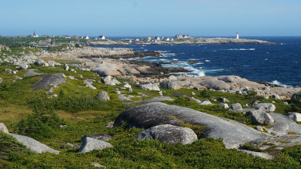 The rugged coast line near Peggy's Cove.