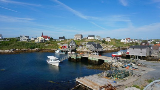 The fishing village of Peggy's Cove
