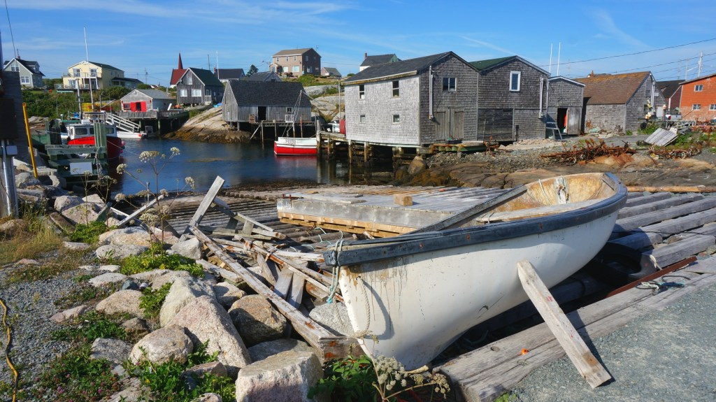 Common sights around Peggy's Cove.