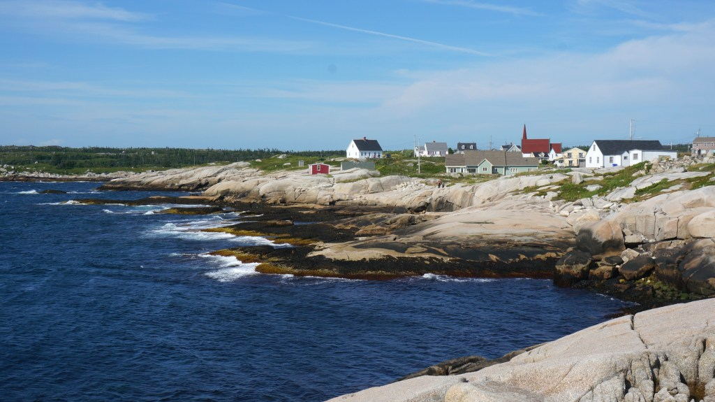 The cute village of Peggy's Cove.