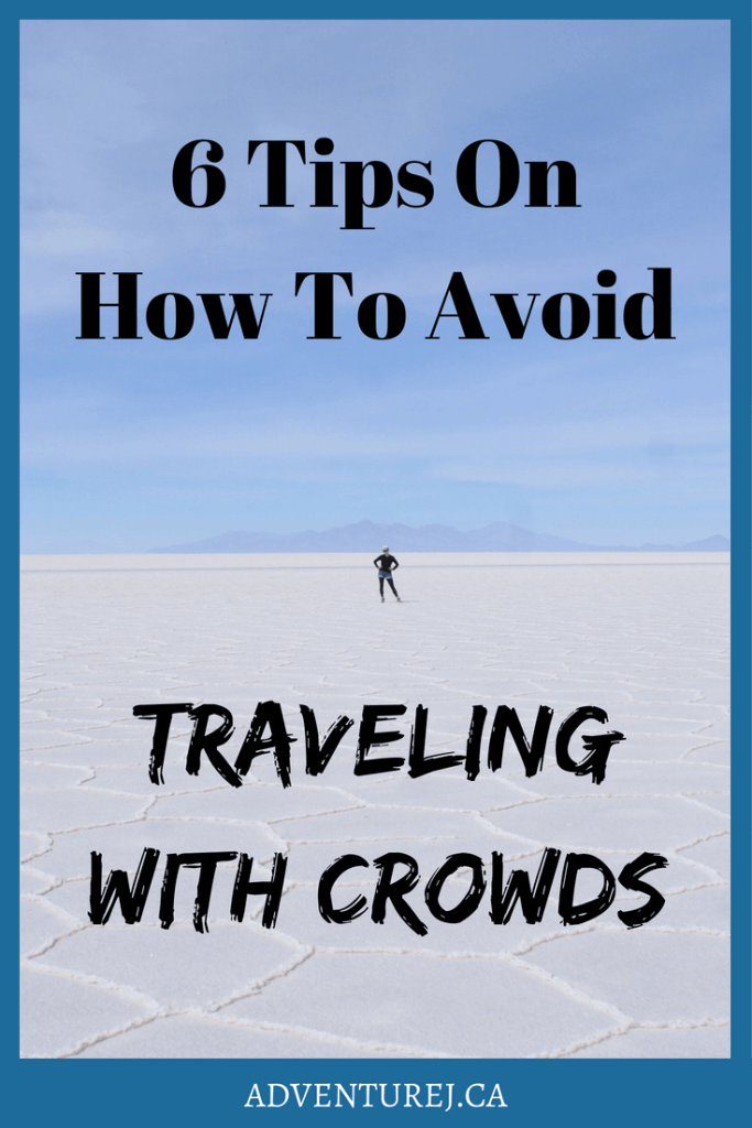 It's every travelers dilemma. How to visit those famous places but without a million other tourists. Here are 6 tips on how to do just that! #travel #traveltips #adventure #explore #crowds #worldtravel #photography #blog #India #Indonesia #czechrepublic
