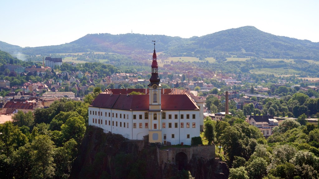 The Decin Castle in my dad's hometown of Decin. A place I never would have thought to visit had it not been for family.