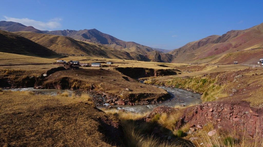 Small village in the Andes.