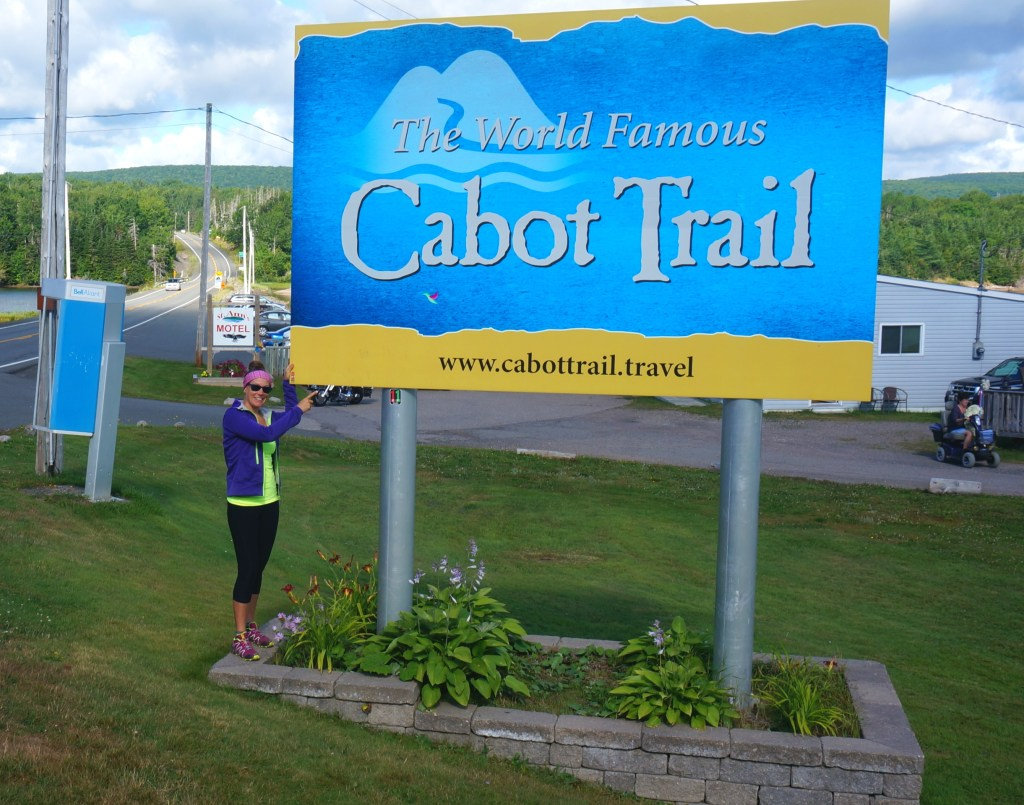 The start of the Cabot Trail.