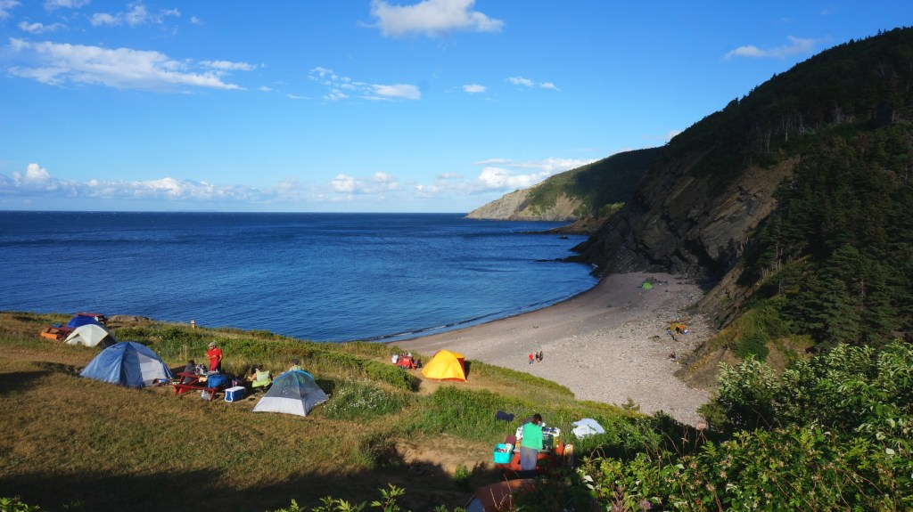 Meat Cove campground.
