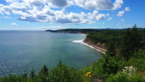 Breath-taking views on Cape Breton Island.