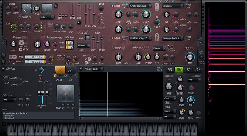 Harmor additive / image synthesizer