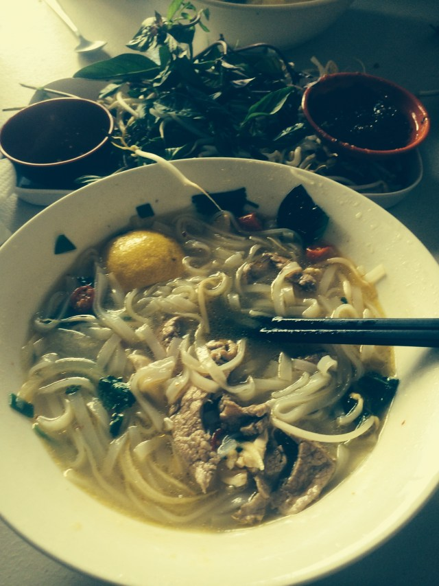 Pho at my all time favourite restaurant- The Proud Peacock in Glen Waverely- $10
