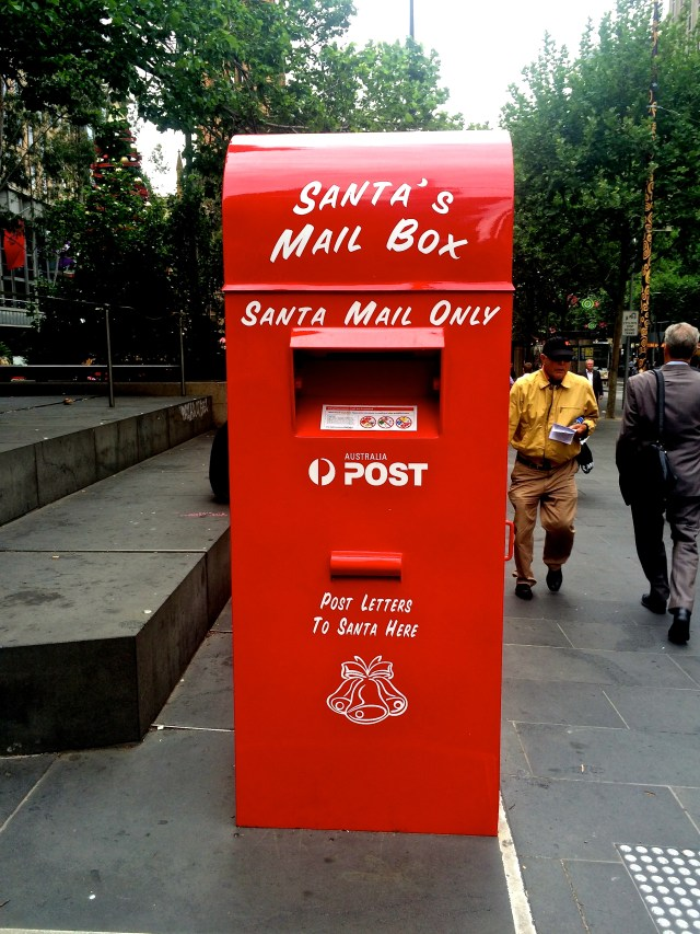 Send a Letter to Santa at Christmas Park