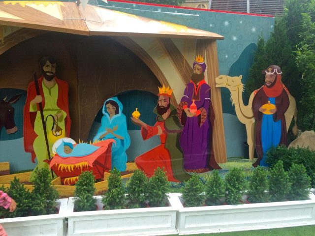 Nativity Scene at Christmas Square
