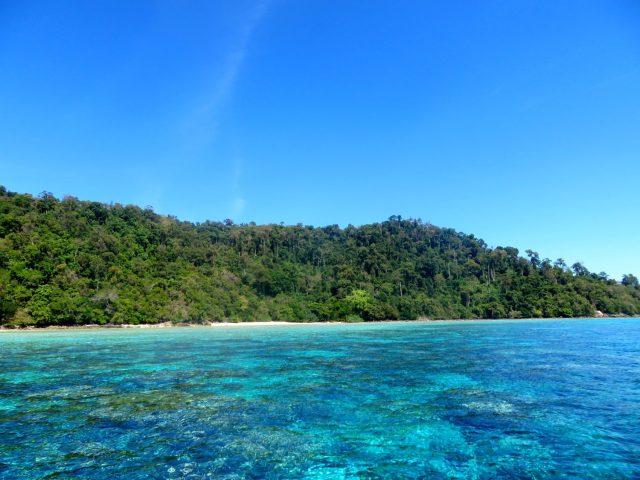 Amazingly clear water at Ko Lanta/Ko Rok