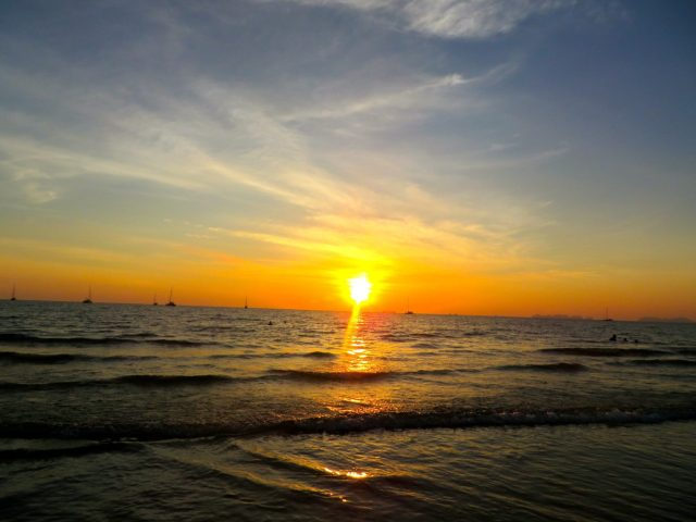 Ko Lanta sunsets are spectacular!