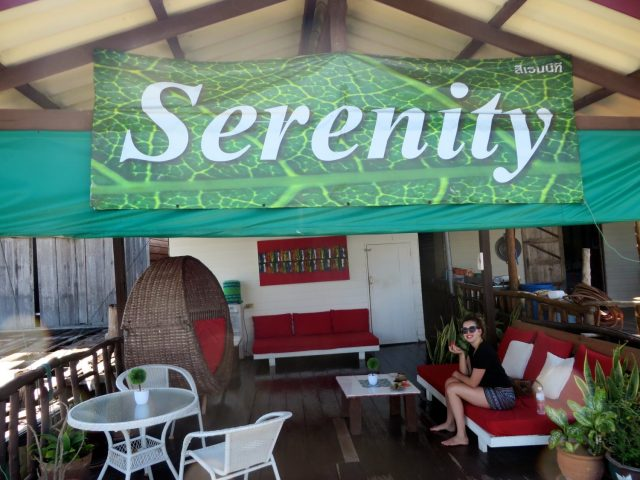 Relaxing at Serenity Spa at Ko Lanta