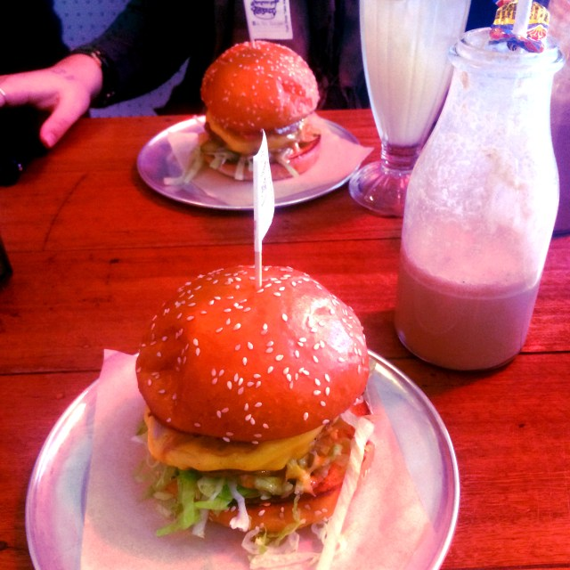 Burgers and Milkshakes at Tuckshop Takeaway